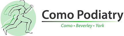 logo for Como Podiatry
